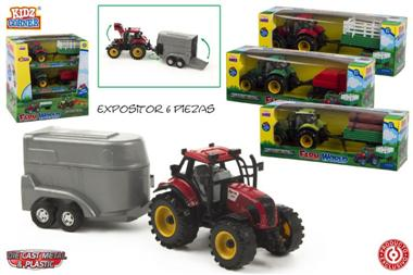 Tractor ferma cu remorca,ColorBaby
