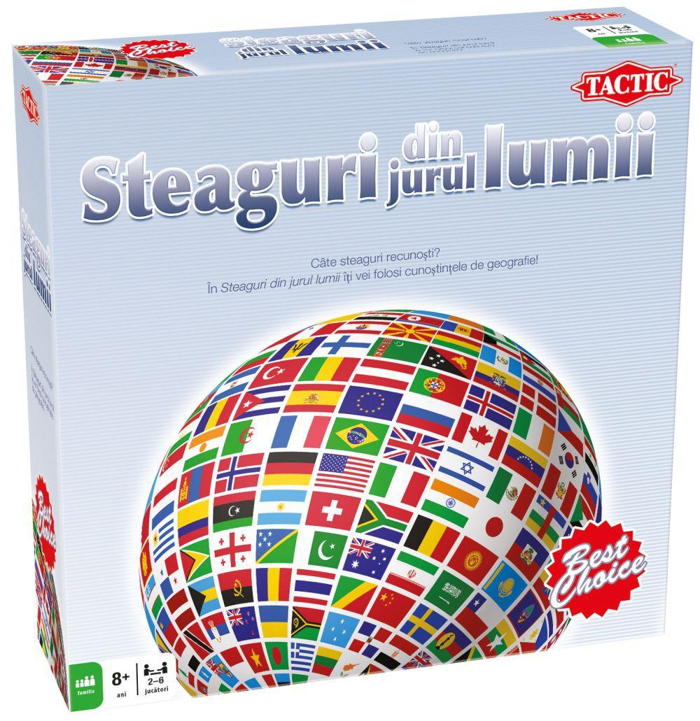 Tactic,joc Steaguri in jurul lumii