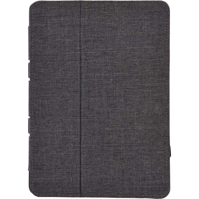 Husa tableta iPad 5 Case Logic,multiple unghiuri de vizualizare, acces comenzi, poliester, black