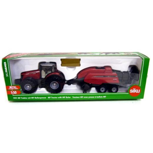 Tractor Siku,presa baloti,1:50