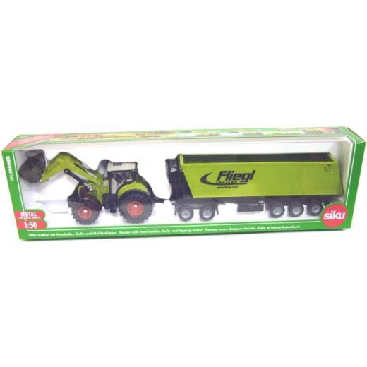 Tractor,Siku,excavator,remorca,1:50