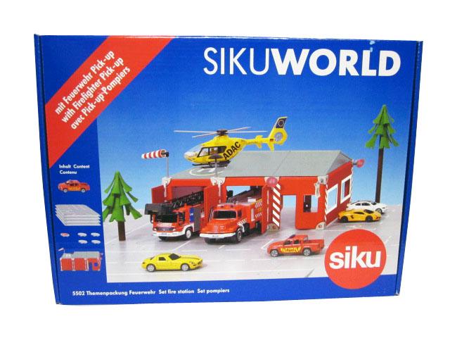 Statie pompieri SikuWorld,16 pcs/set