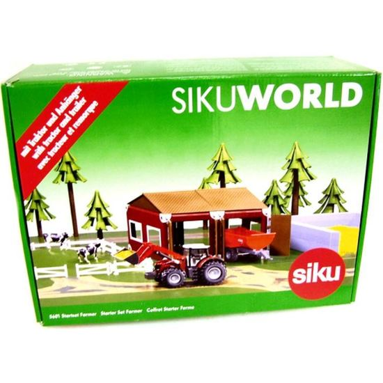 Ferma SikuWorld,52 pcs/set