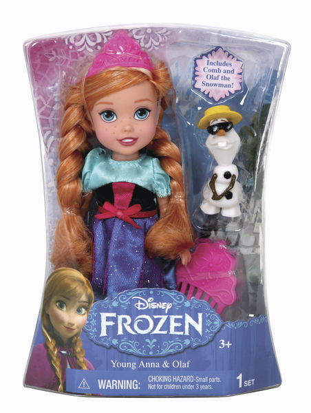 Papusa Disney Frozen,Elsa,Anna,15cm