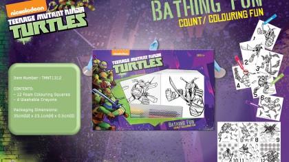 Set desen Testoasele Ninja,pt baie
