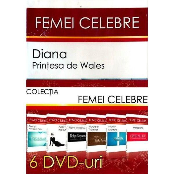 Femei celebre-6DVD