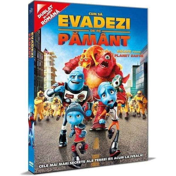 ESCAPE FROM THE PLANET EARTH - CUM SA EVADEZI