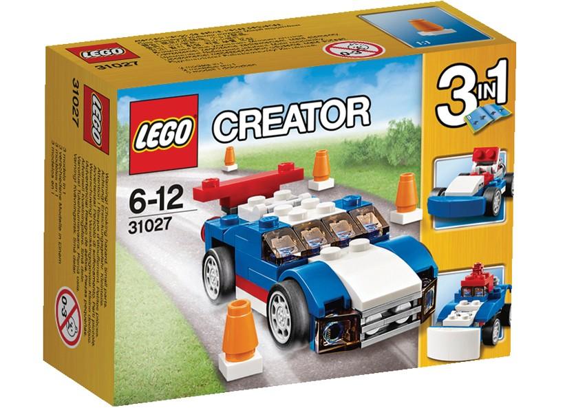 Lego-Creator,Masina de curse albastra
