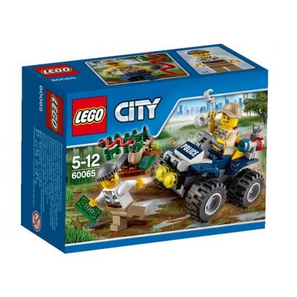 Lego-City,Patrula pe ATV