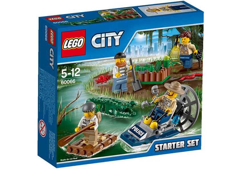 Lego-City,Set pentru incepatori - Politia de mlastina