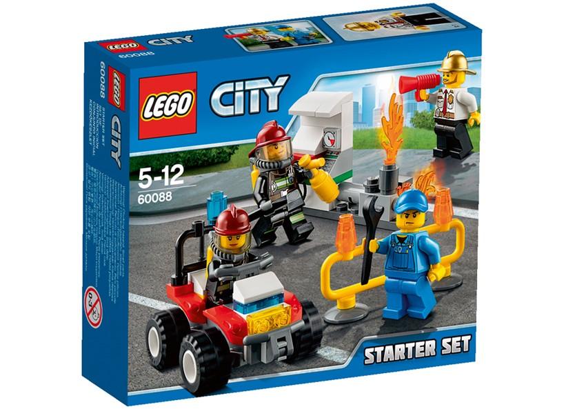 Lego-City,Set pentru incepatori,Pompieri