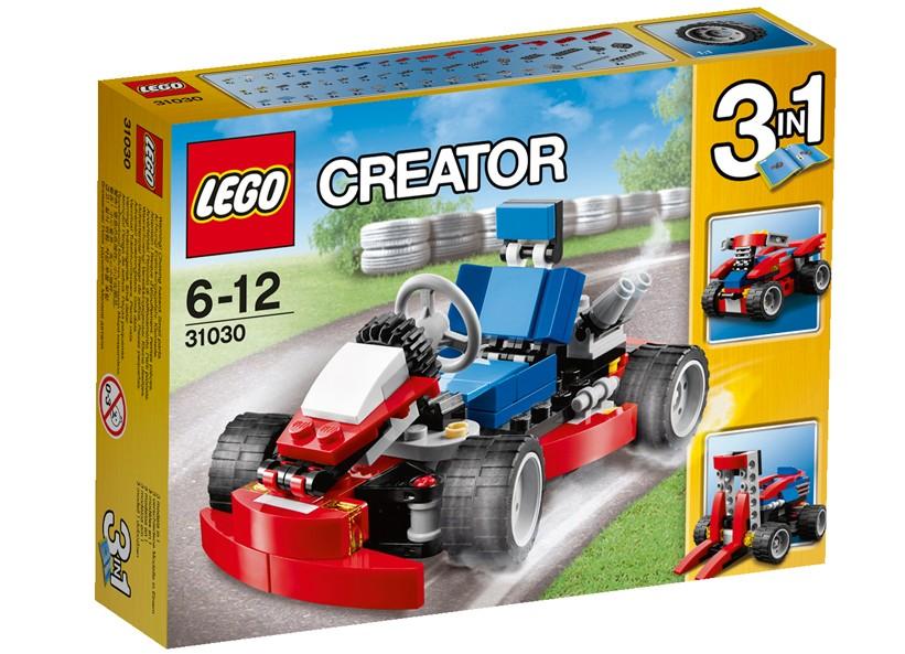 Lego-Creator,Go-Kart rosu