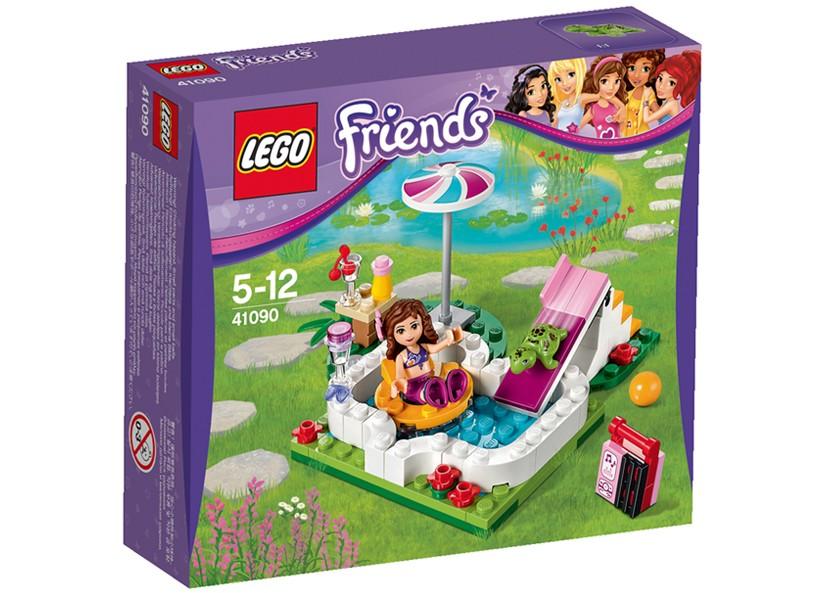 Lego-Friends,Piscina din gradina Oliviei