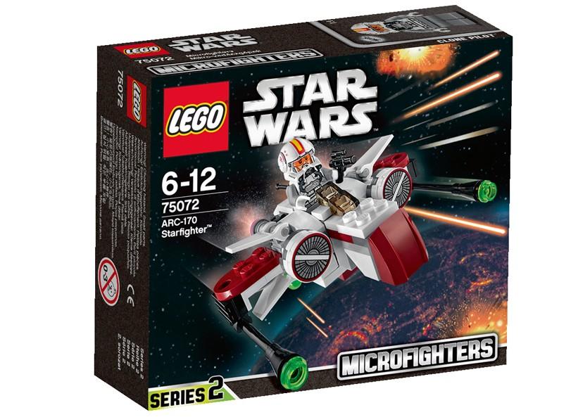 Lego-StarWars,ARC-170 Starfighter