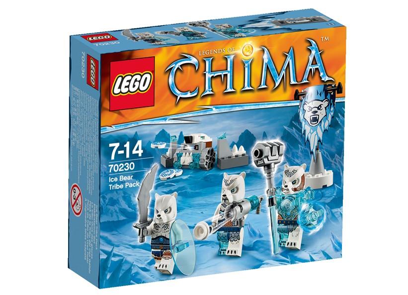 Lego Chima Tribul ursilor de gheasa