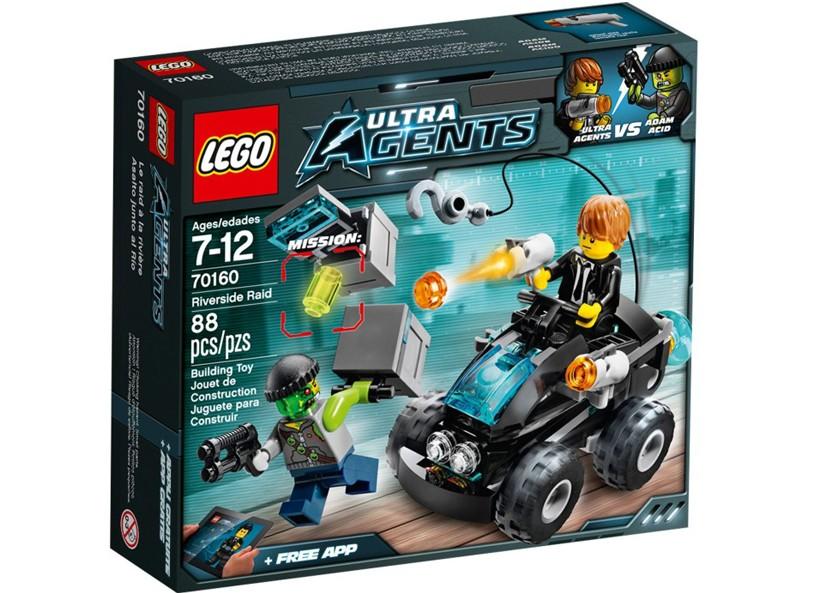 Lego-Ultra Agents,Raidul de pe malul raului