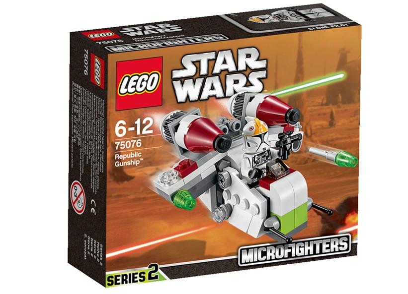 Lego-StarWars,Republic Gunship