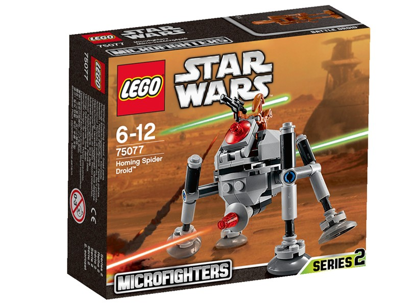 Lego-StarWars,Homing Spider Droid