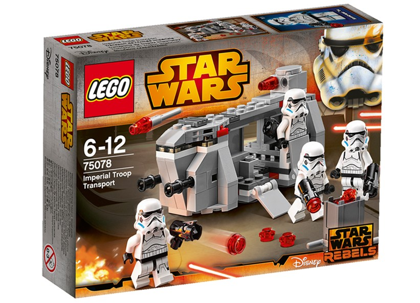 Lego-StarWars,Transport trupe imperiale