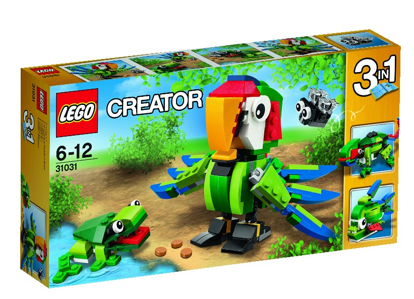 Lego-Creator,Animale din padurea tropicala
