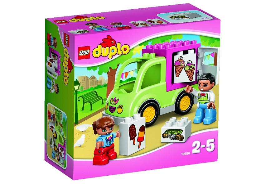 Lego-Duplo,Furgoneta cu Inghetata
