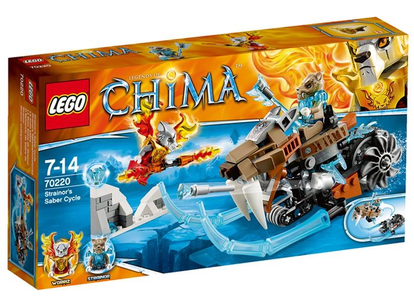 Lego-Chima,Motocicleta lui Strainor