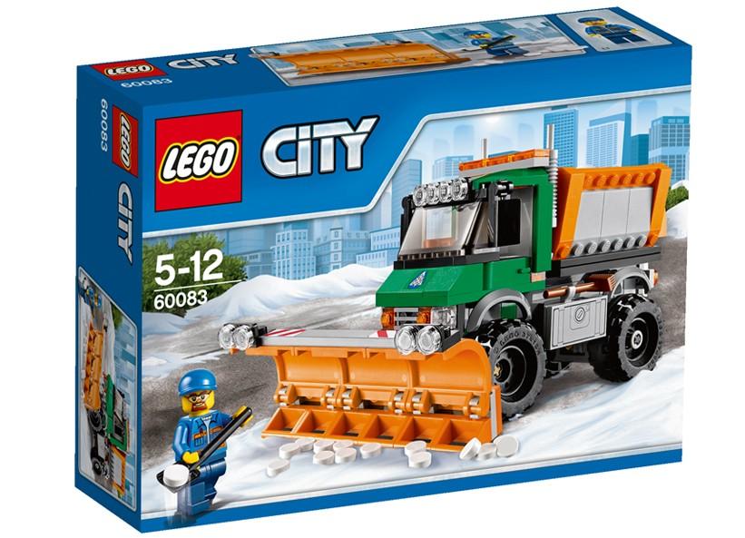 Lego-City,Camion cu plug pentru zapada