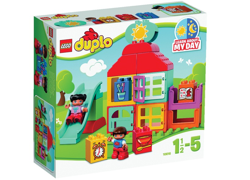 Lego-Duplo,Prima mea casa de joaca