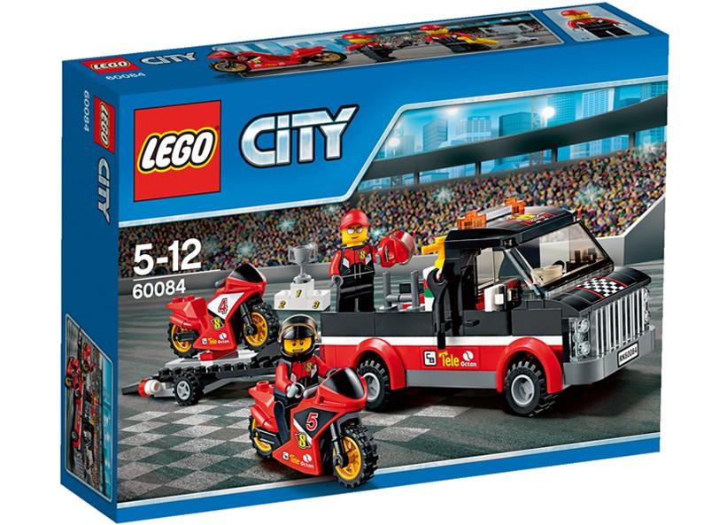Lego-City,Transportor de motociclete de cursa