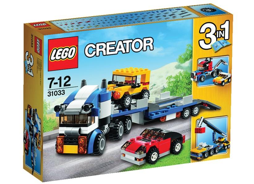 Lego-Creator,Transportor de vehicule