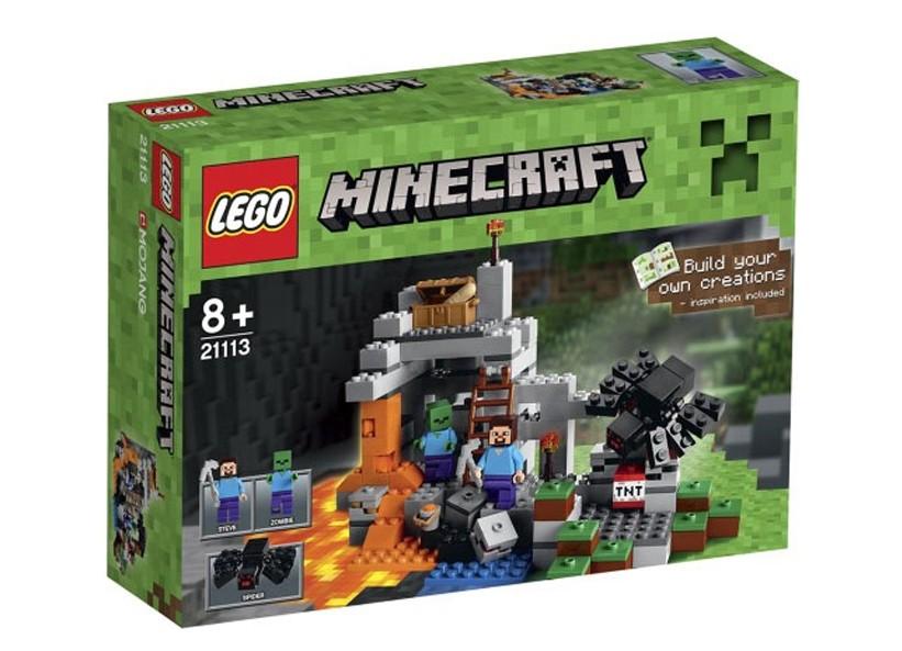 Lego-Minecraft,Pestera