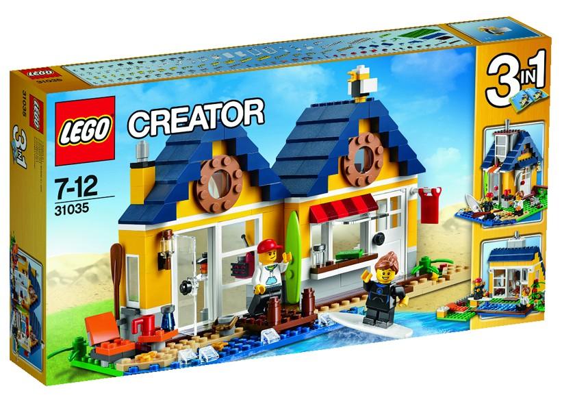 Lego-Creator,Casusa de plaja