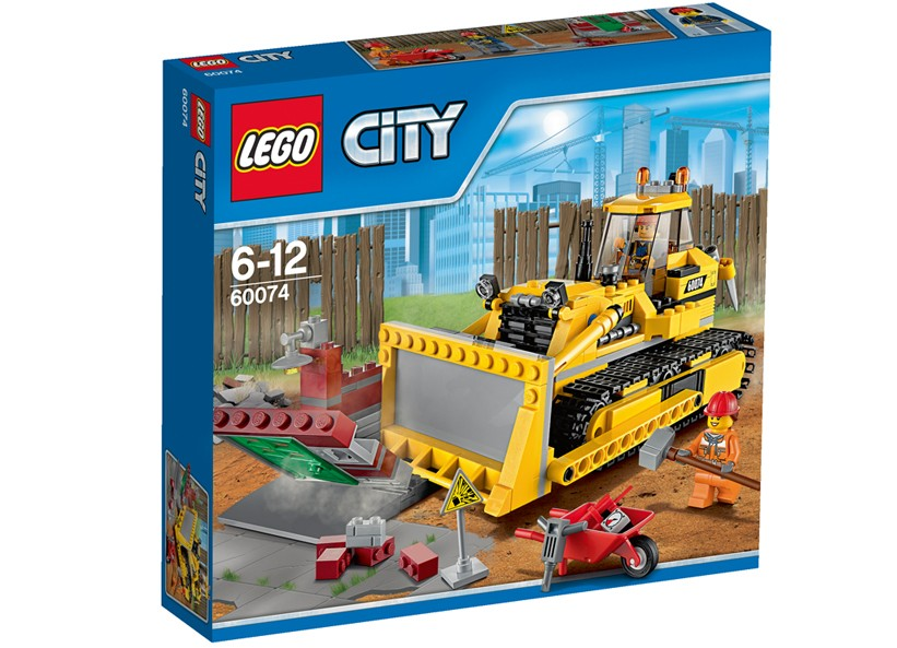 Lego-City,Buldozer