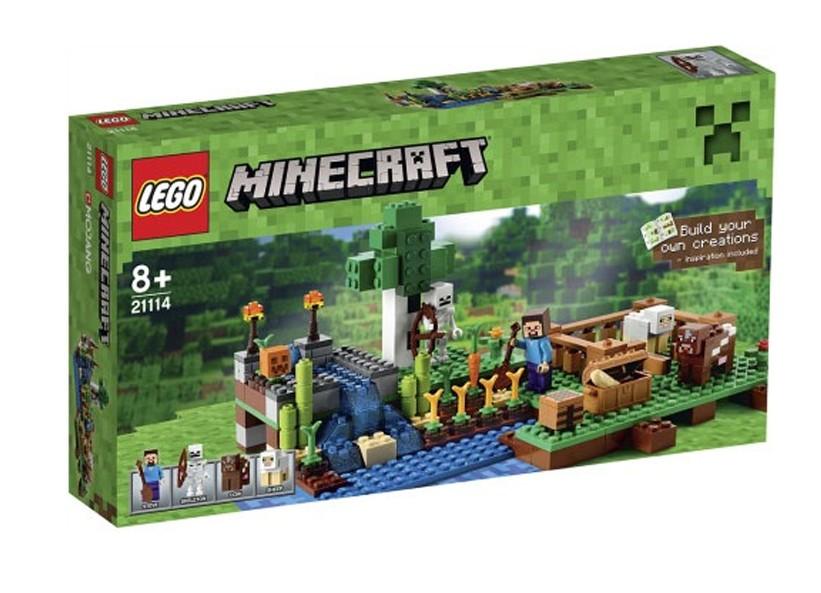 Lego-Minecraft,Ferma