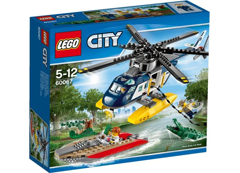 Lego-City,Urmarire cu elicopterul