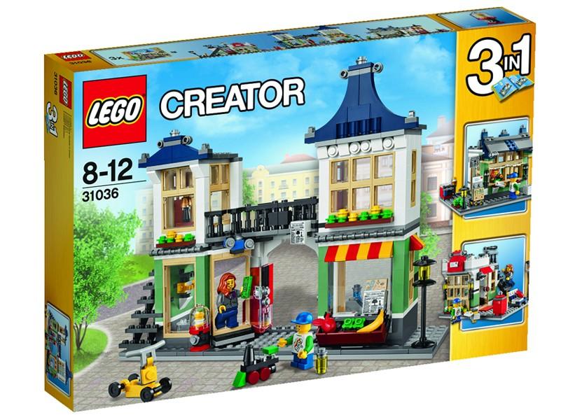 Lego-Creator,Magazin de jucarii si bacanie