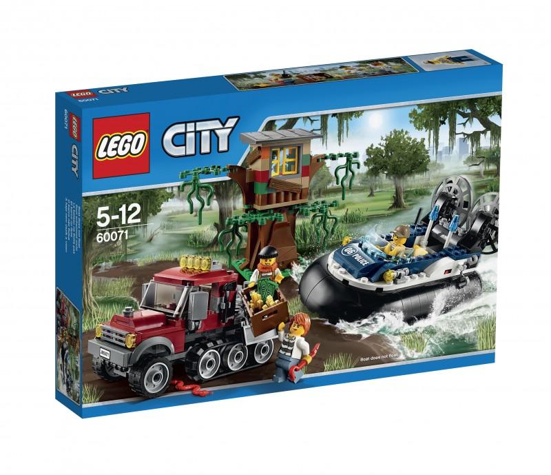 Lego-City,Arestare cu aeroglisorul