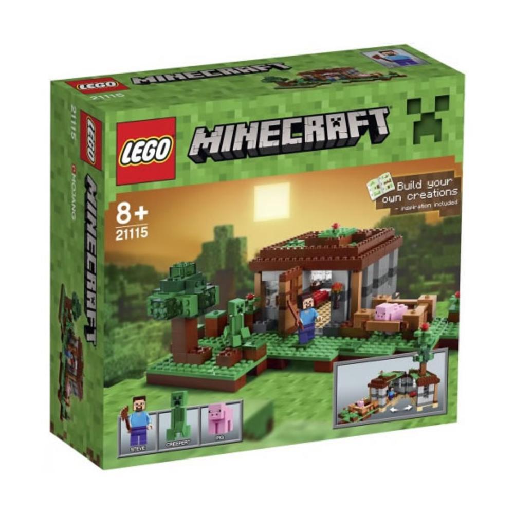 Lego-Minecraft,Prima noapte