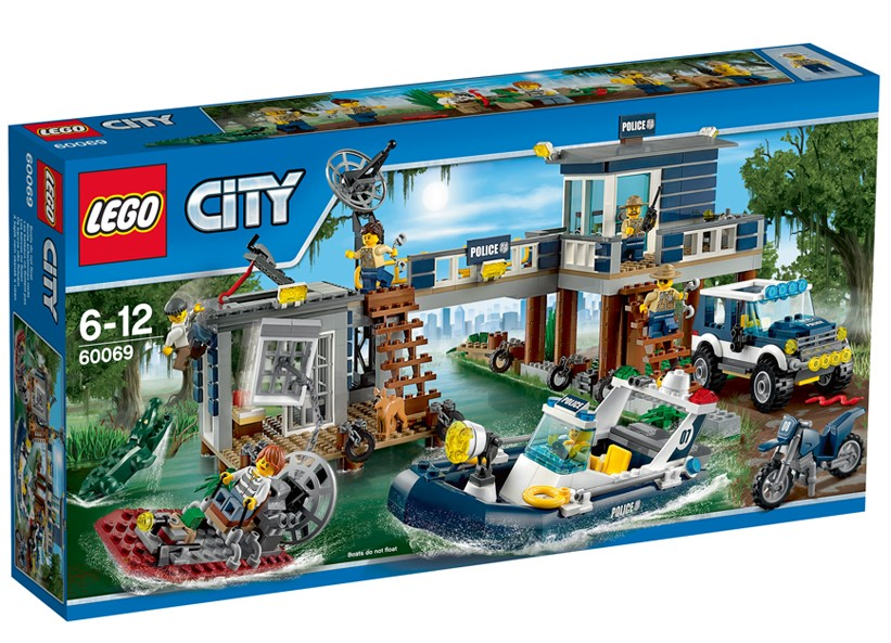 Lego-City,Post de politie de mlastina