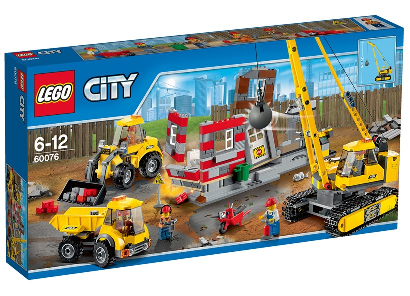 Lego-City,Santier de demolari