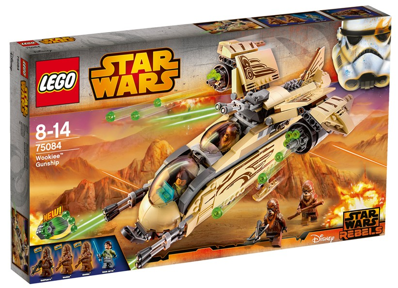 Lego-StarWars,Nava de lupta Wookiee