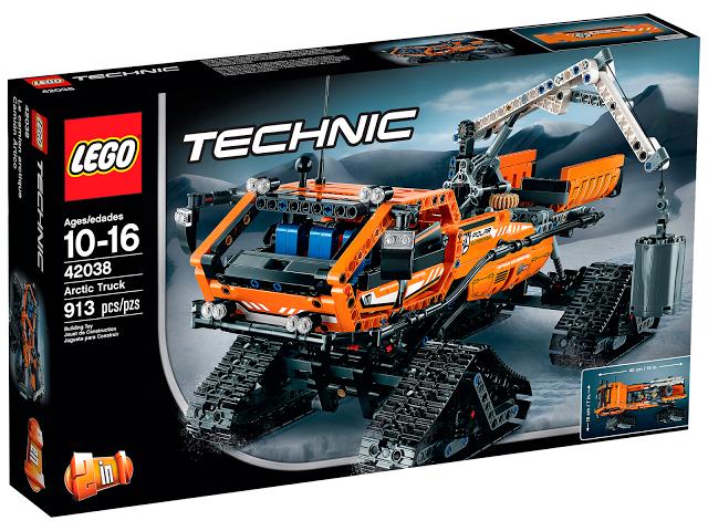 Lego-Technic,Camion arctic
