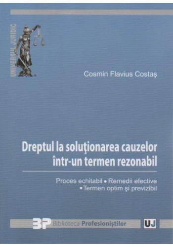 DREPTUL LA SOLUTIONAREA CAUZELOR INTR-UN TERMEN REZONABIL (COSTAS)