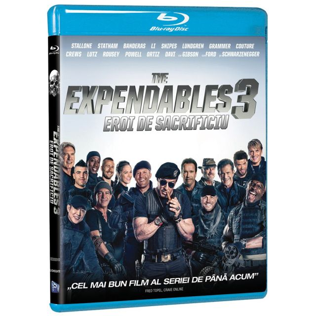 BD: THE EXPENDABLES 3 - EROI DE SACRIFICIU 3