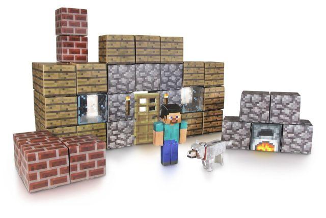 Minecraft Papercraft Figure Set Shelter