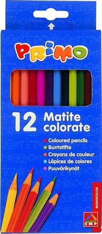Creioane colorate,12b/set,18cm,Morocolor
