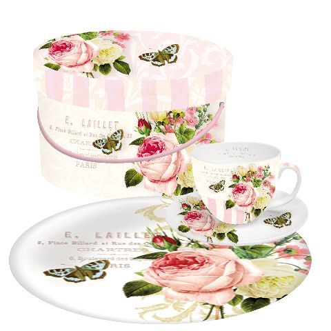 Set desert GB Jardin Rose