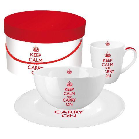 Set mic dejun GB Keep Calm…