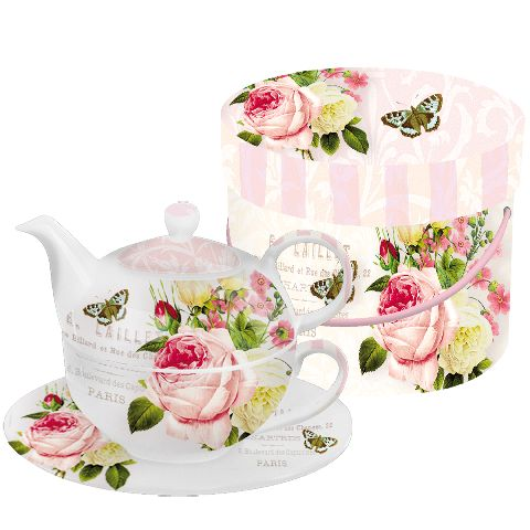 Ceainic Set GB Jardin Rose