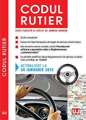 CODUL RUTIER. ACTUALIZAT LA 20 IANUARIE 2015 (URSUTA)